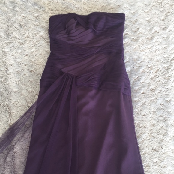 Eggplant Colored Long Gown